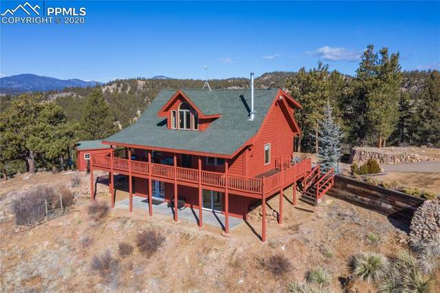 154 Peak View Circle, Florissant, CO 80816 (#2214482) :: The Daniels Team