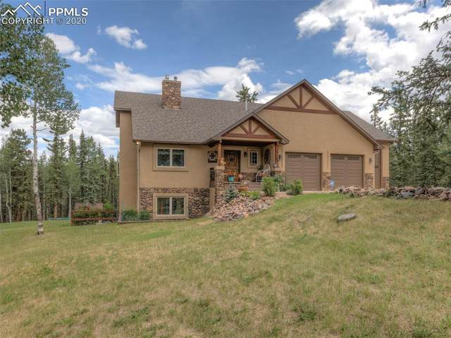 426 Cornell Drive, Woodland Park, CO 80863 (#2215547) :: The Treasure Davis Team