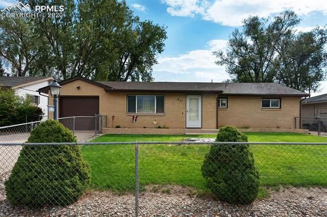 421 Ponderosa Drive, Colorado Springs, CO 80911 (#2240012) :: 8z Real Estate