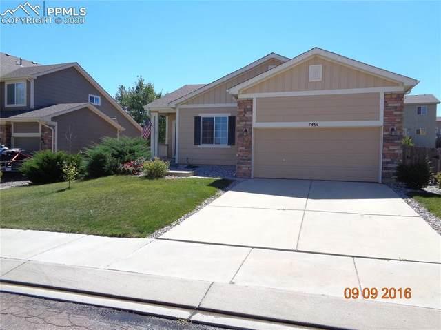 7491 Creekfront Drive, Fountain, CO 80817 (#2272967) :: The Scott Futa Home Team