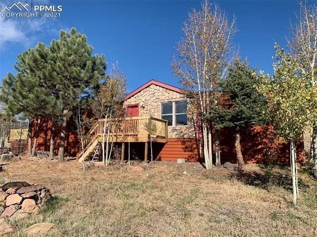 36 Valley Circle, Florissant, CO 80816 (#2304581) :: Springs Home Team @ Keller Williams Partners