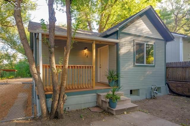 734 E Cache La Poudre Street, Colorado Springs, CO 80903 (#2314249) :: The Kibler Group