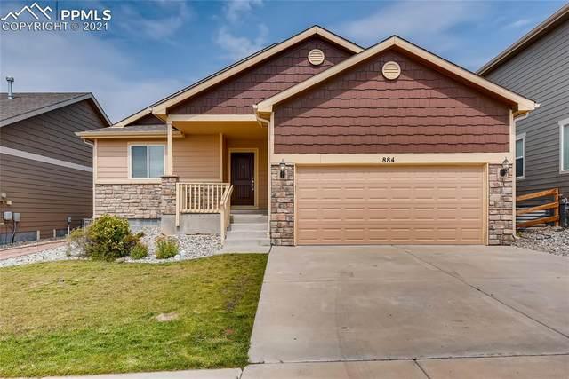 884 Deschutes Drive, Colorado Springs, CO 80921 (#2342903) :: Action Team Realty