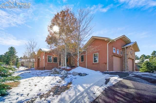 1121 W Bowman Avenue, Woodland Park, CO 80863 (#2354877) :: The Kibler Group