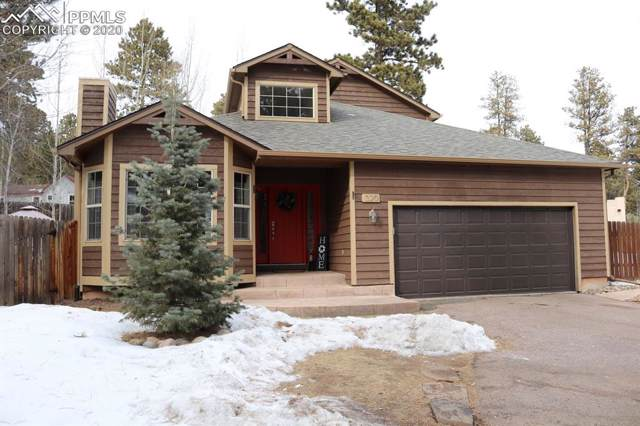 320 Evergreen Street, Woodland Park, CO 80863 (#2355039) :: The Kibler Group