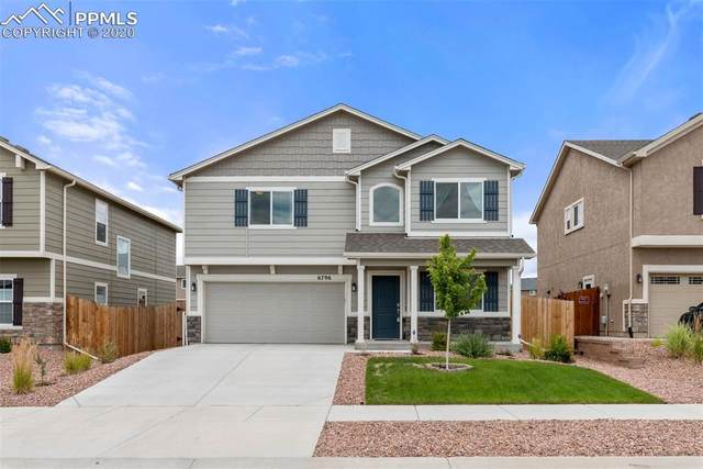 6796 Spruce Hill Court, Colorado Springs, CO 80923 (#2356415) :: Tommy Daly Home Team