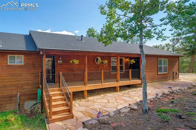 221 Potlatch Trail, Woodland Park, CO 80863 (#2380039) :: Action Team Realty