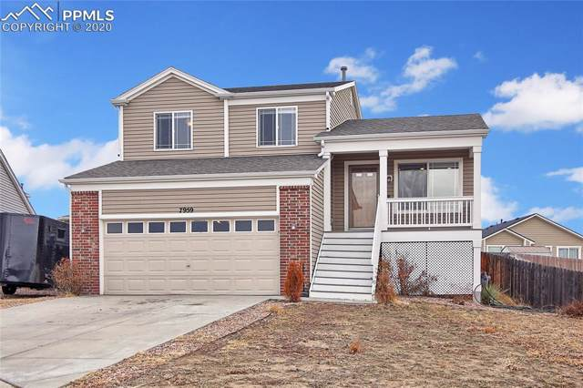 7959 Brocket Lane, Fountain, CO 80817 (#2383317) :: The Peak Properties Group