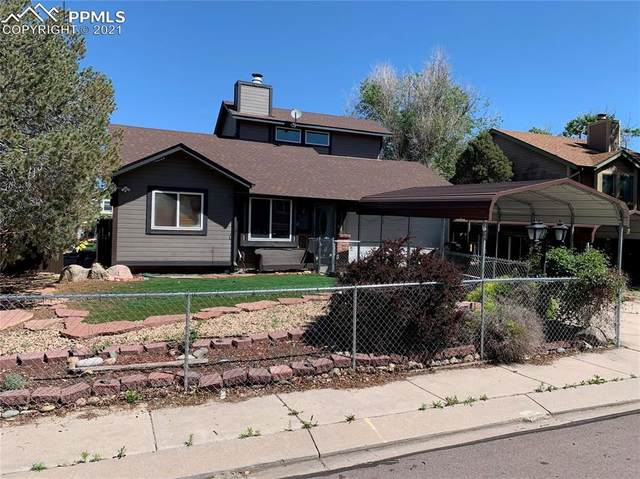 1140 Greenbrier Drive, Colorado Springs, CO 80916 (#2410781) :: Re/Max Structure