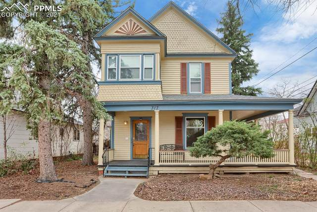 317 E San Rafael Street, Colorado Springs, CO 80903 (#2437229) :: Finch & Gable Real Estate Co.
