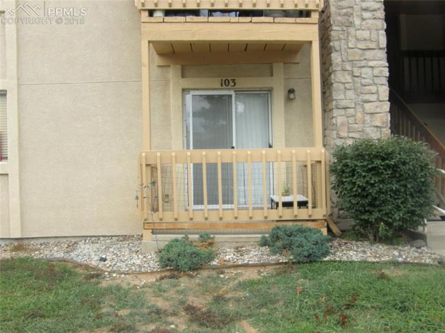 842 Tenderfoot Hill Road #103, Colorado Springs, CO 80906 (#2437420) :: Action Team Realty