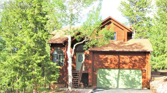 1360 Pinon Ridge Court, Woodland Park, CO 80863 (#2448849) :: Tommy Daly Home Team