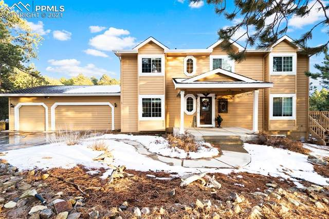 18421 Gregs Pond Lane, Monument, CO 80132 (#2451654) :: Action Team Realty