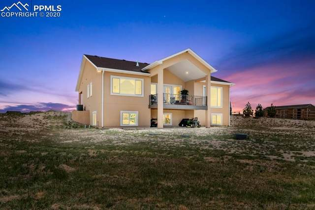 12108 Oregon Wagon Trail, Elbert, CO 80106 (#2454408) :: Tommy Daly Home Team