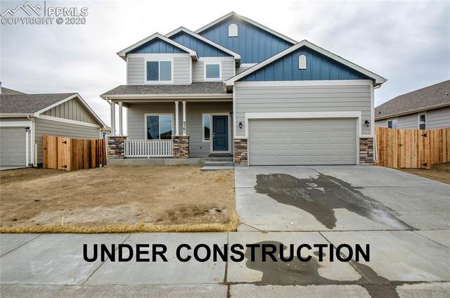 4929 Makalu Drive, Colorado Springs, CO 80939 (#2486420) :: The Treasure Davis Team
