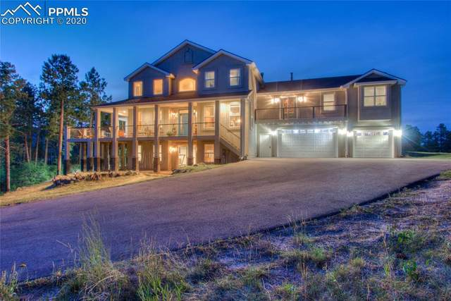 14352 Timber Trail, Larkspur, CO 80118 (#2516114) :: The Dixon Group