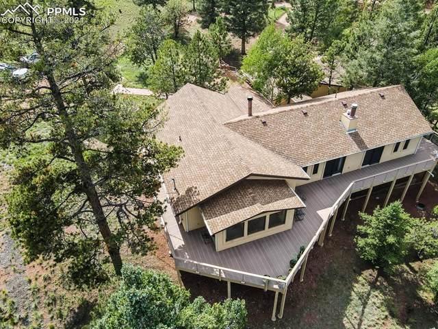 280 Highland Meadows Drive, Florissant, CO 80816 (#2524117) :: The Treasure Davis Team | eXp Realty