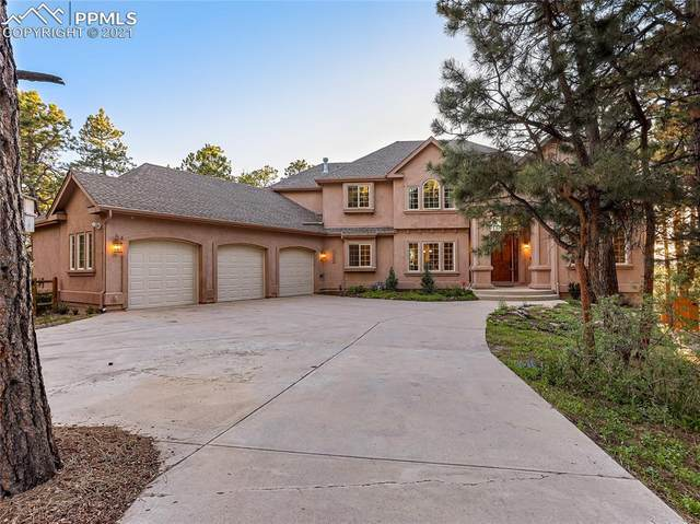 18440 Woodhaven Drive, Colorado Springs, CO 80908 (#2529723) :: The Kibler Group