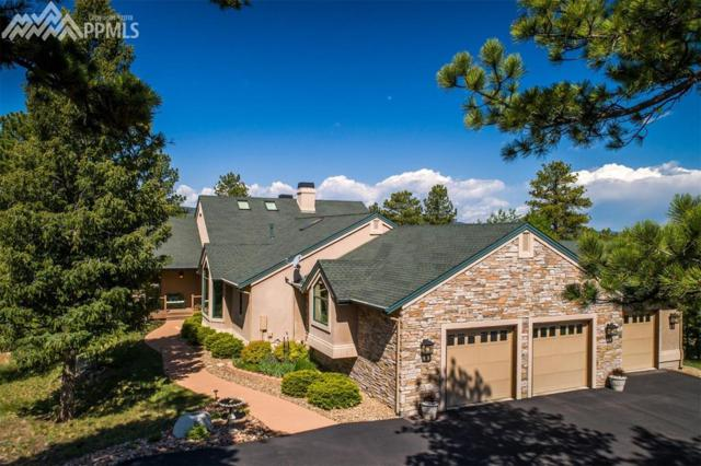 1535 Tenderfoot Drive, Larkspur, CO 80118 (#2534846) :: The Treasure Davis Team