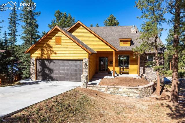 1234 Woodland Valley Ranch Drive, Woodland Park, CO 80863 (#2537286) :: Finch & Gable Real Estate Co.