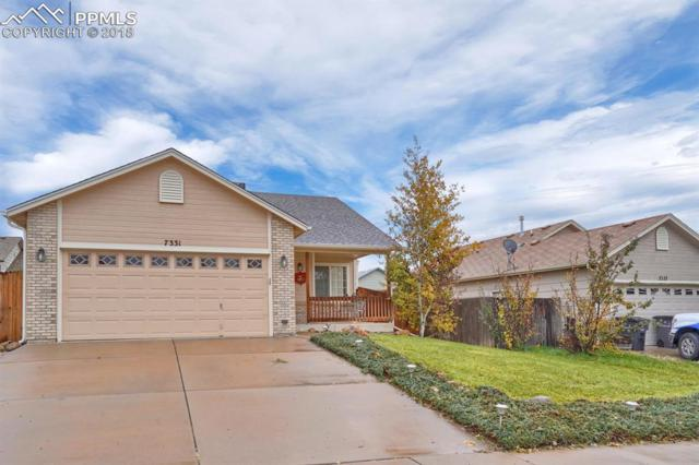 7331 Coral Ridge Drive, Colorado Springs, CO 80925 (#2545886) :: The Treasure Davis Team