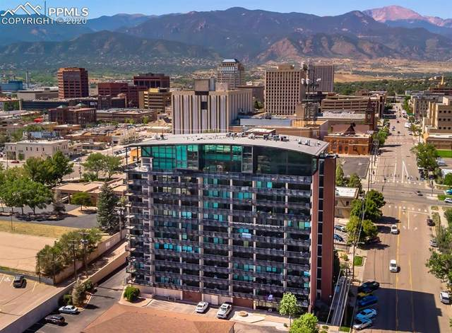 417 E Kiowa Street #1203, Colorado Springs, CO 80903 (#2565367) :: The Kibler Group