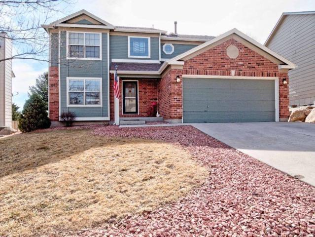 850 Royal Crown Lane, Colorado Springs, CO 80906 (#2586085) :: The Hunstiger Team