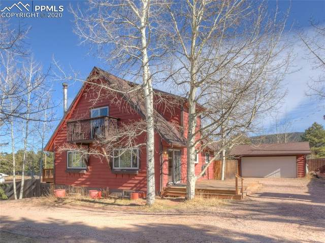 725 E Northwoods Drive, Woodland Park, CO 80863 (#2590686) :: Finch & Gable Real Estate Co.