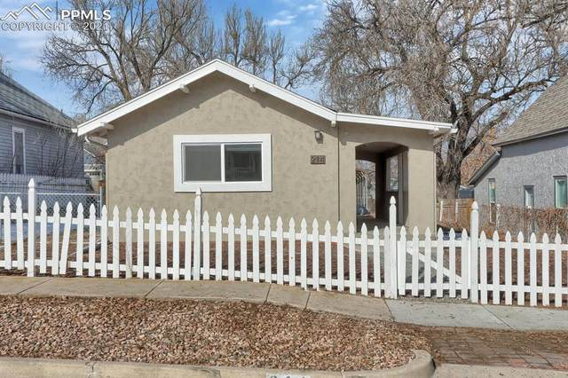 214 Willow Street, Colorado Springs, CO 80903 (#2593530) :: The Gold Medal Team with RE/MAX Properties, Inc
