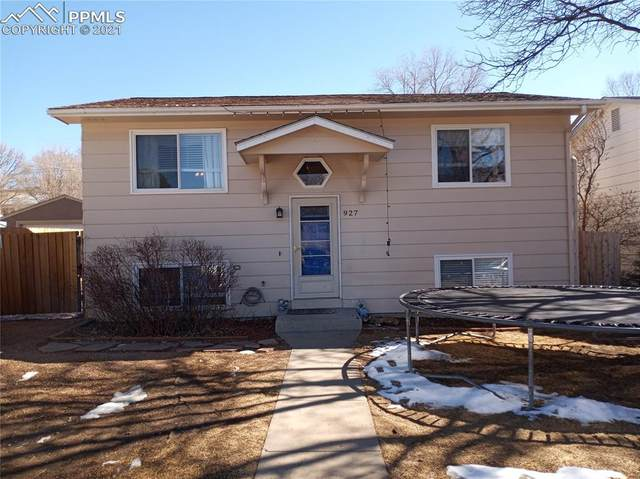 927 N 18th Street, Colorado Springs, CO 80904 (#2604875) :: Tommy Daly Home Team