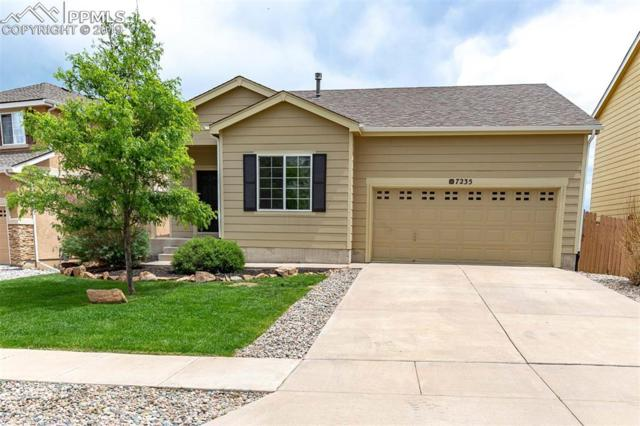 7235 Amber Ridge Drive, Colorado Springs, CO 80922 (#2610206) :: The Treasure Davis Team