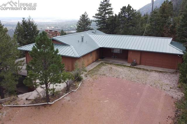 1550 Gardiner Rock Lane, Colorado Springs, CO 80906 (#2626306) :: The Treasure Davis Team