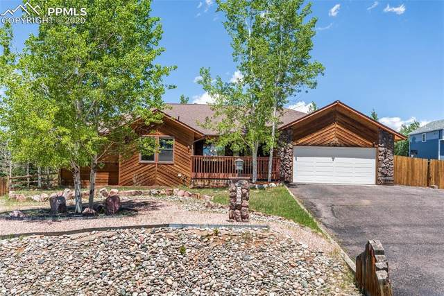 2208 Valley View Drive, Woodland Park, CO 80863 (#2635012) :: The Kibler Group