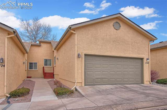 770 Cima Vista Point, Colorado Springs, CO 80916 (#2663092) :: The Hunstiger Team