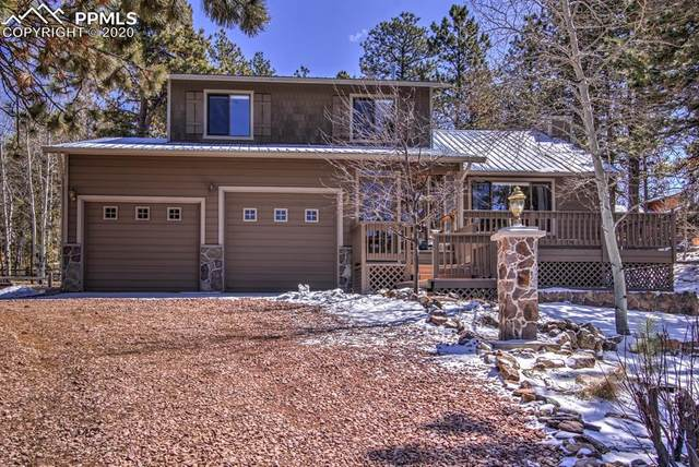 245 Sun Valley Drive, Woodland Park, CO 80863 (#2685173) :: Finch & Gable Real Estate Co.