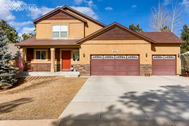 842 Misty Pines Circle, Woodland Park, CO 80863 (#2693705) :: 8z Real Estate