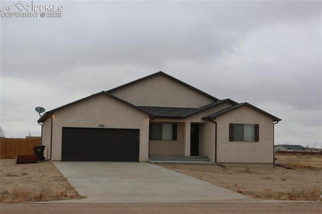 751 E Marigold Drive, Pueblo West, CO 81007 (#2701653) :: Action Team Realty