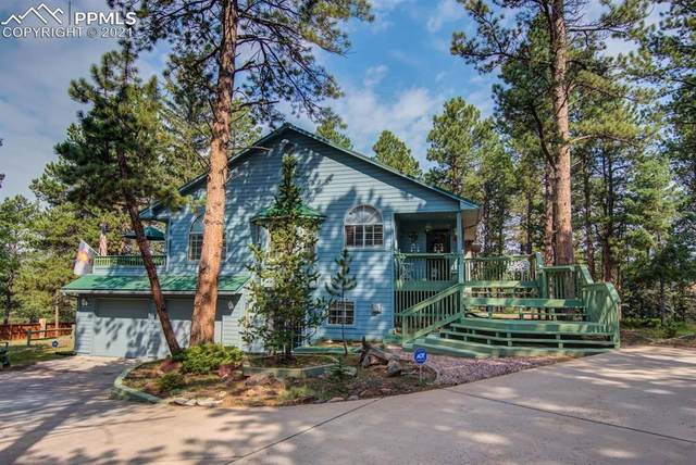 3115 Regent Drive, Woodland Park, CO 80863 (#2707129) :: Tommy Daly Home Team