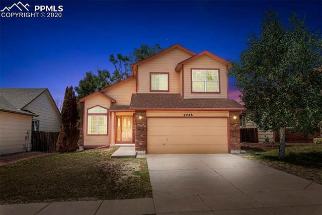2228 Sage Grouse Lane, Colorado Springs, CO 80951 (#2755023) :: Tommy Daly Home Team