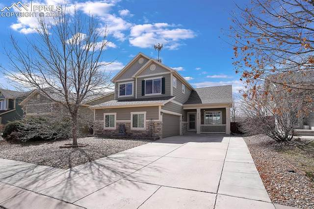 8150 Silver Glen Drive, Fountain, CO 80817 (#2762293) :: The Kibler Group
