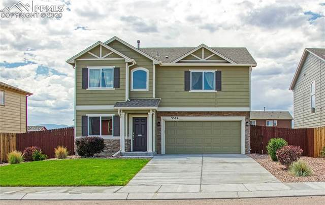 3584 Wild Daisy Drive, Colorado Springs, CO 80925 (#2766233) :: Tommy Daly Home Team