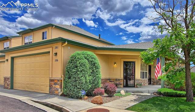 281 Eagle Summit Point #106, Colorado Springs, CO 80919 (#2774937) :: Action Team Realty
