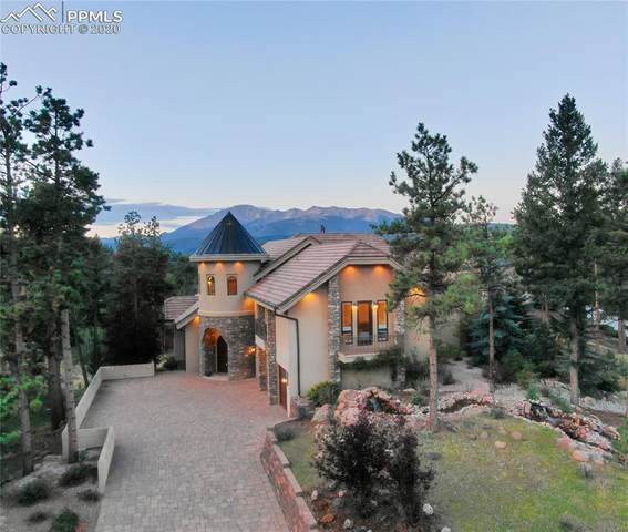 201 Eagles Perch Place, Woodland Park, CO 80863 (#2778213) :: 8z Real Estate