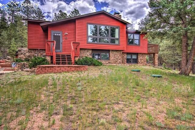 55 Ponderosa Lane, Woodland Park, CO 80863 (#2791390) :: 8z Real Estate