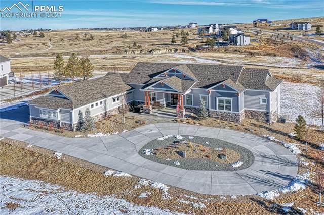 9593 Merryvale Court, Parker, CO 80138 (#2799152) :: Relevate | Denver