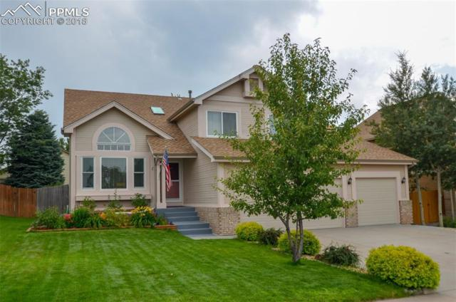 6715 Turkey Tracks Road, Colorado Springs, CO 80922 (#2835960) :: The Hunstiger Team