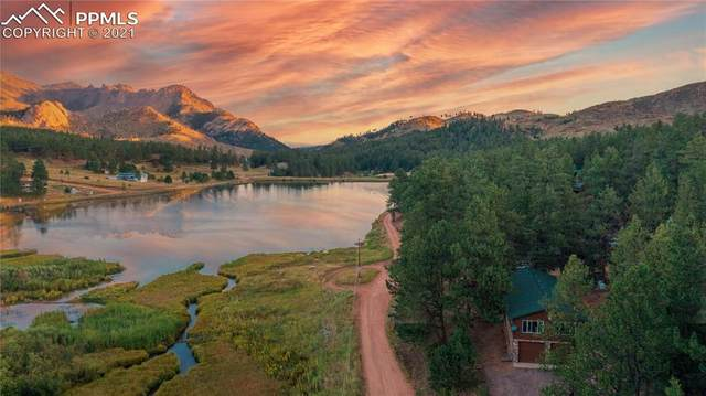 15154 Pine Lake Drive, Woodland Park, CO 80863 (#2853678) :: The Gold Medal Team with RE/MAX Properties, Inc