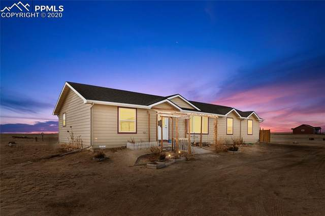 30087 Lonesome Dove Lane, Calhan, CO 80808 (#2893973) :: Finch & Gable Real Estate Co.