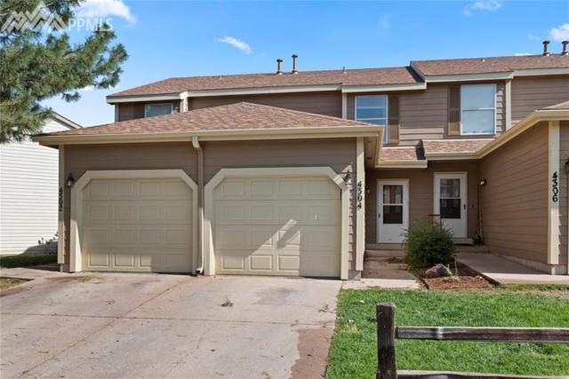 4304 Hunting Meadows Circle #3, Colorado Springs, CO 80916 (#2894636) :: The Peak Properties Group