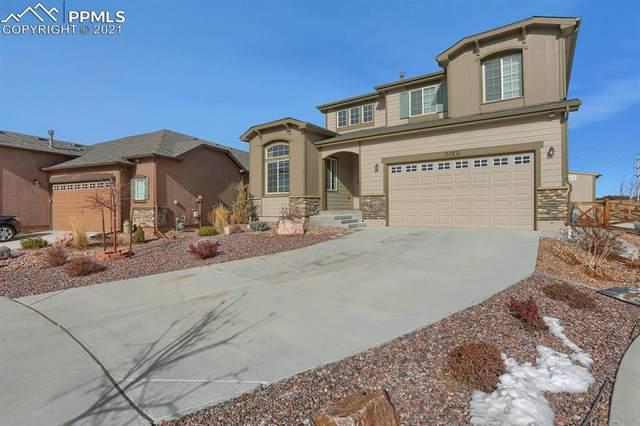 7192 Jagged Rock Circle, Colorado Springs, CO 80927 (#2902279) :: The Dixon Group